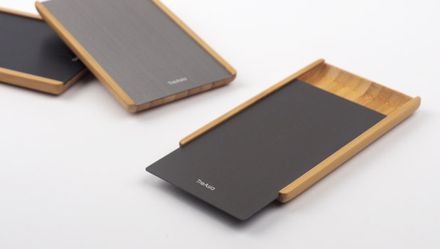 Slide Bamboo Card Case / TreAsia