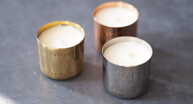 Eclectic Candle set キャンドルセット(3P) / Tom Dixon