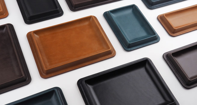 Leather Tray / Colm